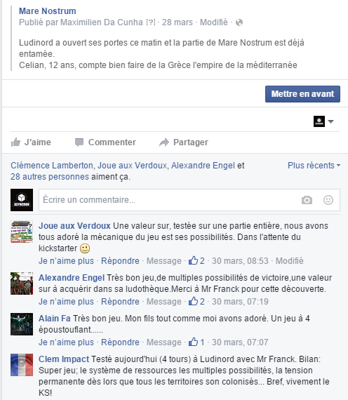 commentaire FB